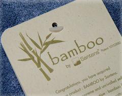 bambus sengetøj Santens / Bambus og bomuld håndklæder, Badehåndklæde, sengelinned  bambus sengetøj